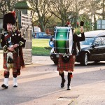 Funeral Highland Piper