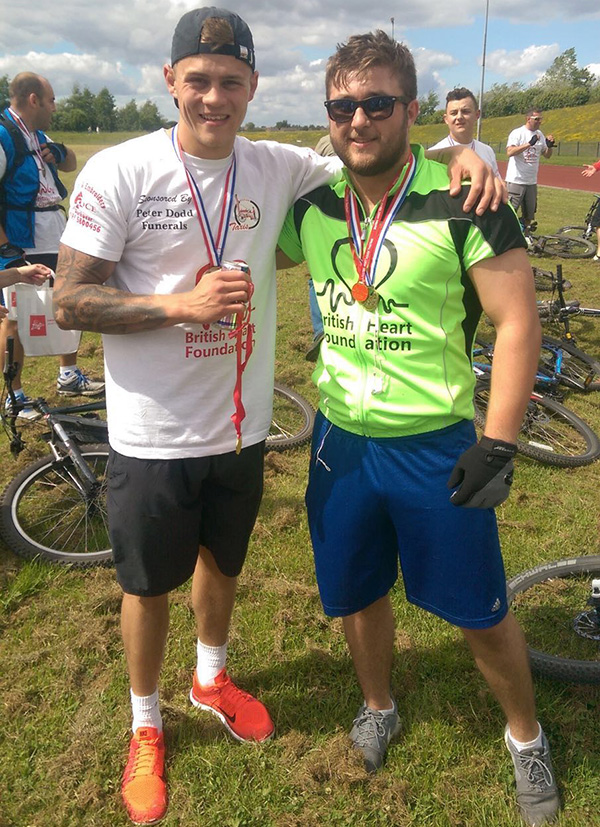 Bike ride for British Heart Foundation